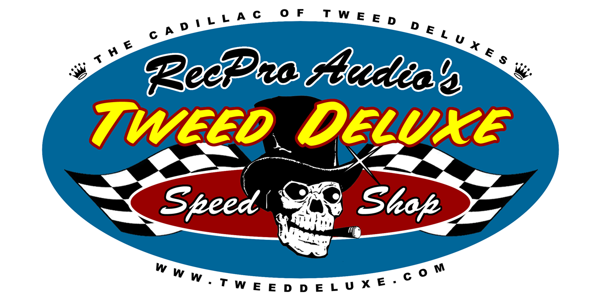 Tweed Deluxe Speed Shop Logo