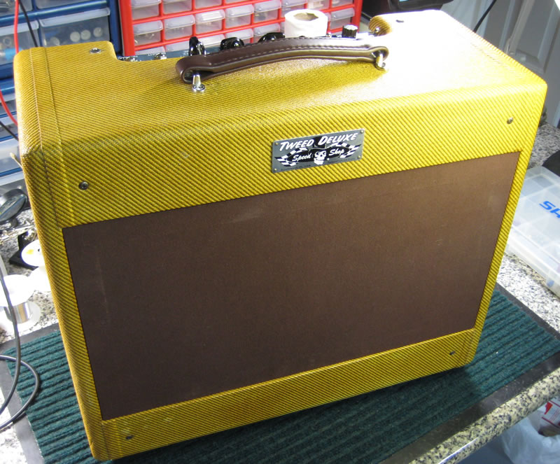 George Terry Speed Shop 5E3 Tweed Deluxe