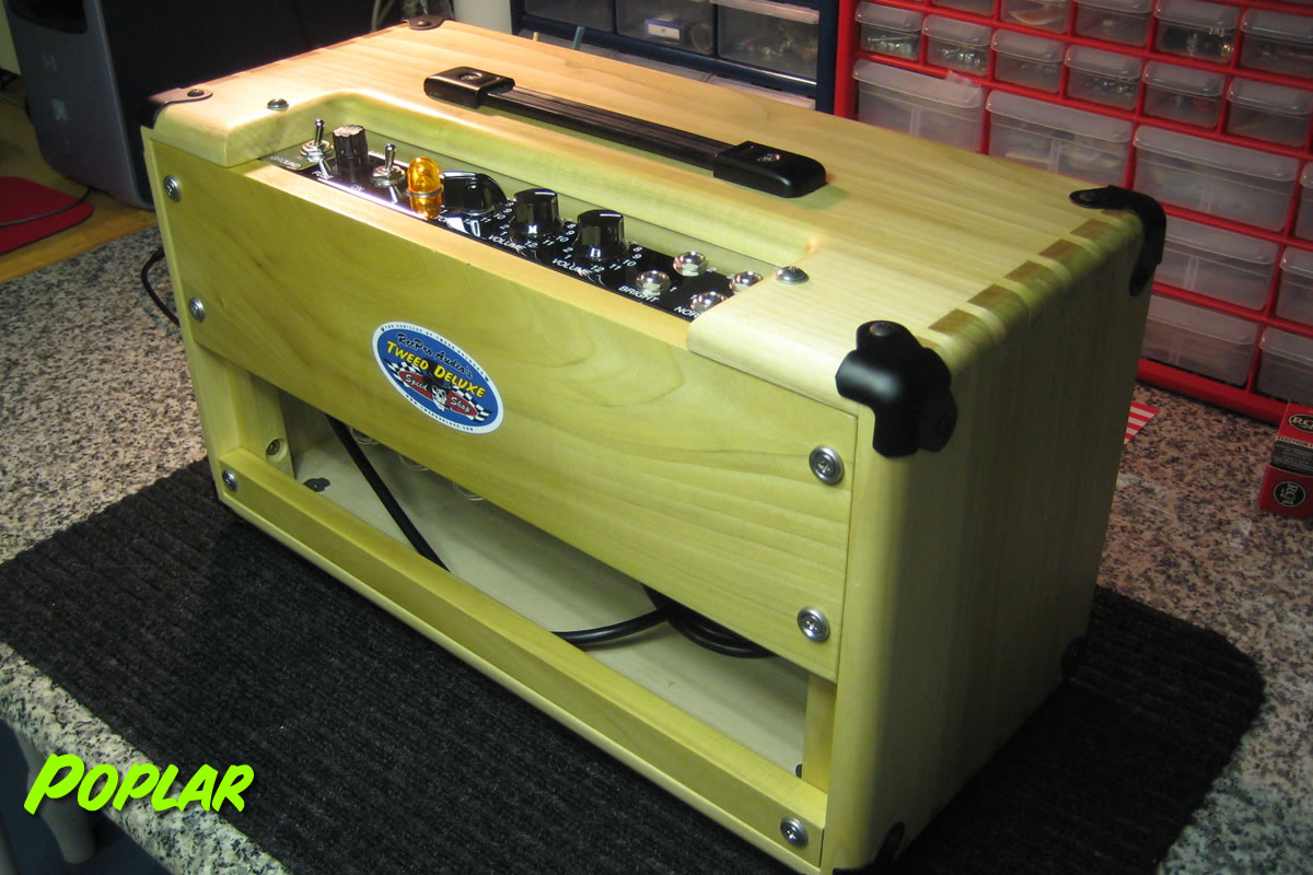 5E3 Head Cabinet Poplar Rear