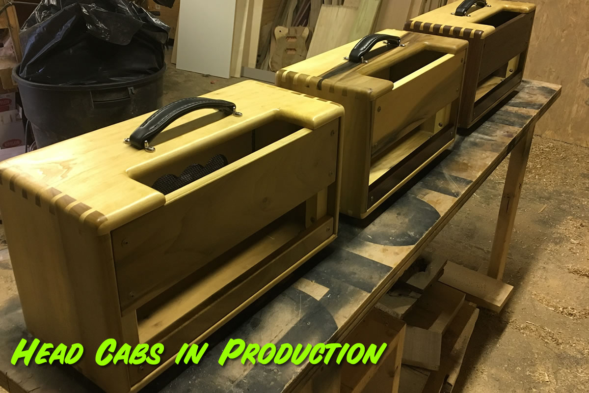 Head Cabinets in Production