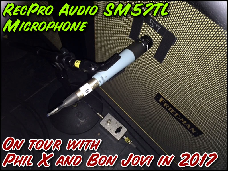 SM57TL on Tour
