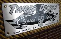 Speed Shop SWAG Nameplate