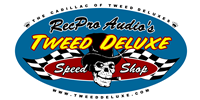 Tweed Deluxe Speed Shop